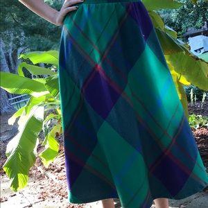 Vintage A-Line Skirt